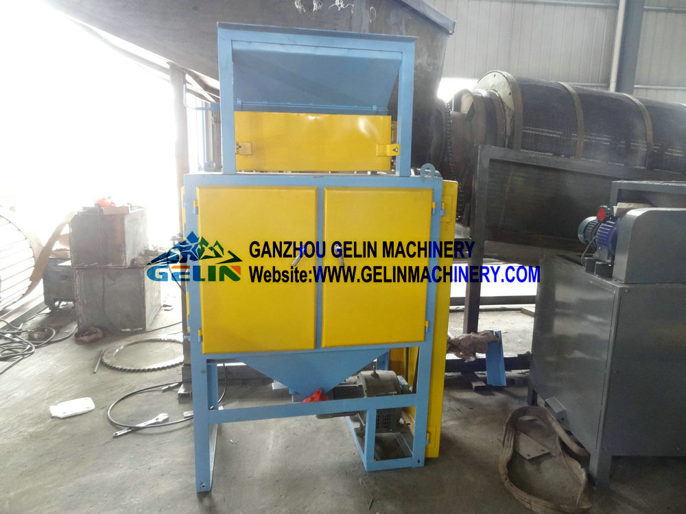 Two rollers electrostatic separator