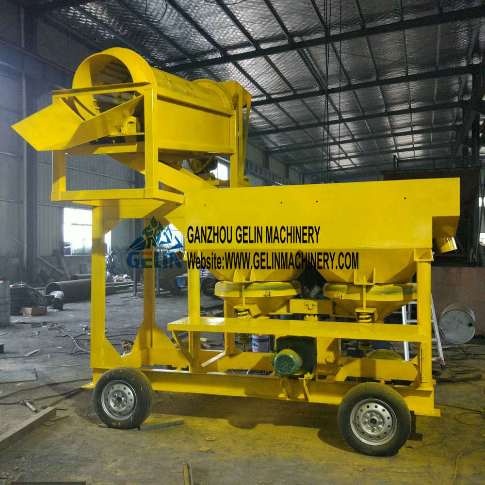 Portable Gold and Diamond washing plant